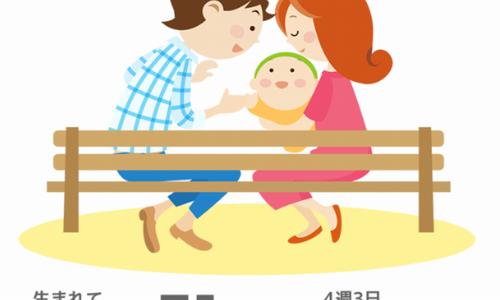 生後1カ月  息子の変化と親の変化