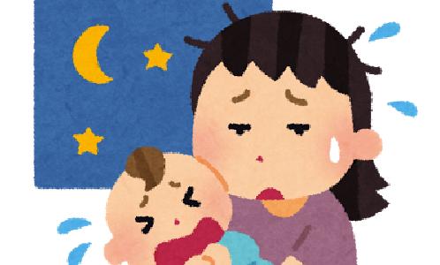 子どもがはげしく泣いて泣き止まないということ